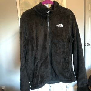 THE NORTH FACE Black Osito Fleece Jacket